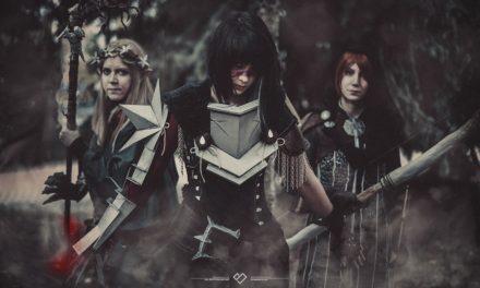 Photoshoot: Dalish Keeper, Hawke és Leliana (Dragon Age - Naeviss' Armoury, Anna B, Hugispider)