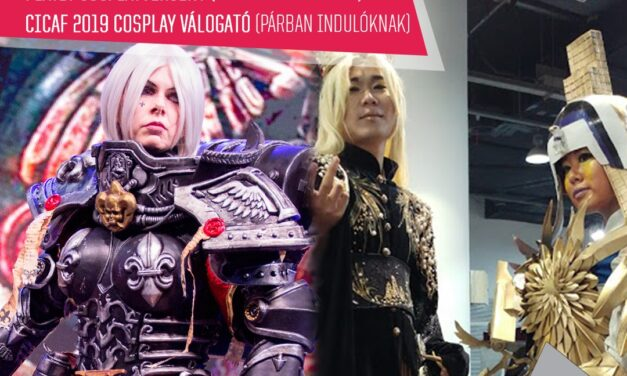 A PlayIT Show Budapest SZOMBATI napján tartandó Cosplayversenyekre, MÁR CSAK 6 NAPOTOK VAN jelentkezni‼️
