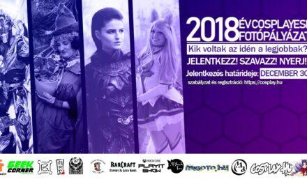 2018 – Év Cosplayese Fotópályázat