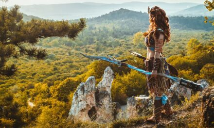 Photoshoot: Aloy (Horizon: Zero Dawn - Ms.Terious Cosplay)