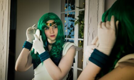 Photoshoot: Super Sailor Neptune (Sailor Moon - Meriel)
