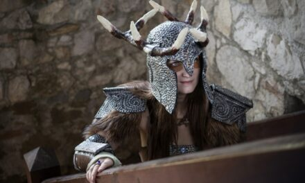 Photoshoot: Dovahkiin - Dragonborn / Ahzidal set (Skyrim - Rhysa)