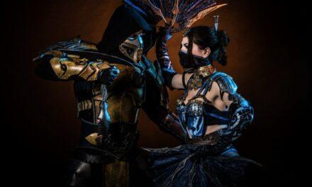 Photoshoot: Kitana (Mortal Kombat X - Okkido)