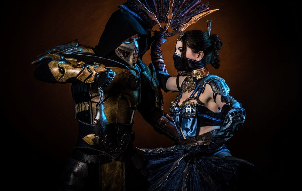 Photoshoot: Kitana (Mortal Kombat X – Okkido)