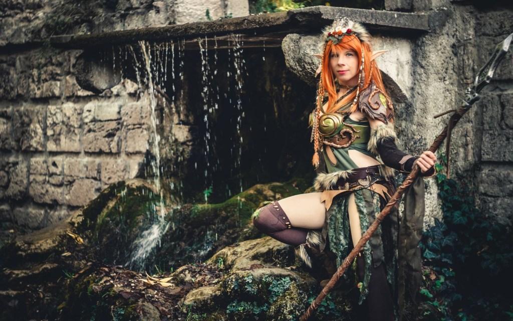 Photoshoot: Forest Elf Guardian (Original – Yuriko)