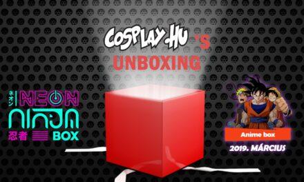 CosplayTV's UNBOXING – Beléptünk a Neon Ninja Klánba! (szponzorált videó)