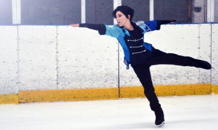 Photoshoot: Katsuki Yuri (Yuri!!! On Ice - Nekovi)