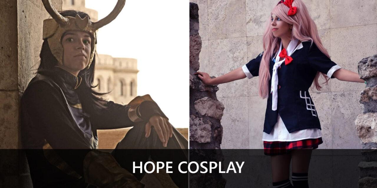 Hope cosplay