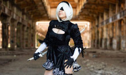 Photoshoot: 2B (Nier Automata - Fairydevil)