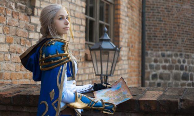 Photoshoot: Jaina Proudmoore (World of Warcraft – Swords&blueberries creatives)