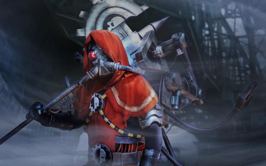 Photoshoot: Techpriest (Warhammer 40 000 – Telperion)