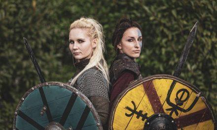 Photoshoot: Astrid és Lagertha (Vikings - Pocketwraith és Puffancs)