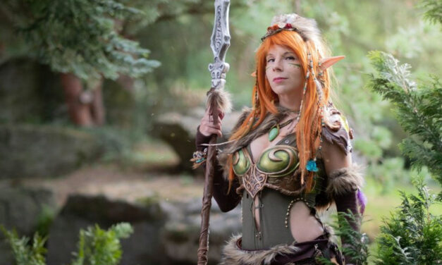 Photoshoot: Forest Elf (Original – Yuriko Seira)