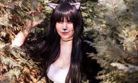 Photoshoot: Black Cat (Original - Lina-chan)