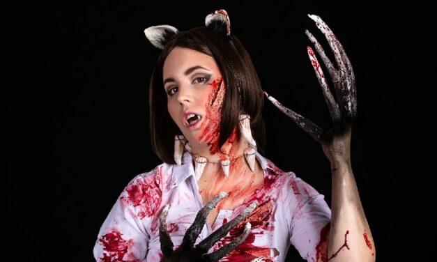 Photoshoot: Demoncat (Original – Lina-chan)