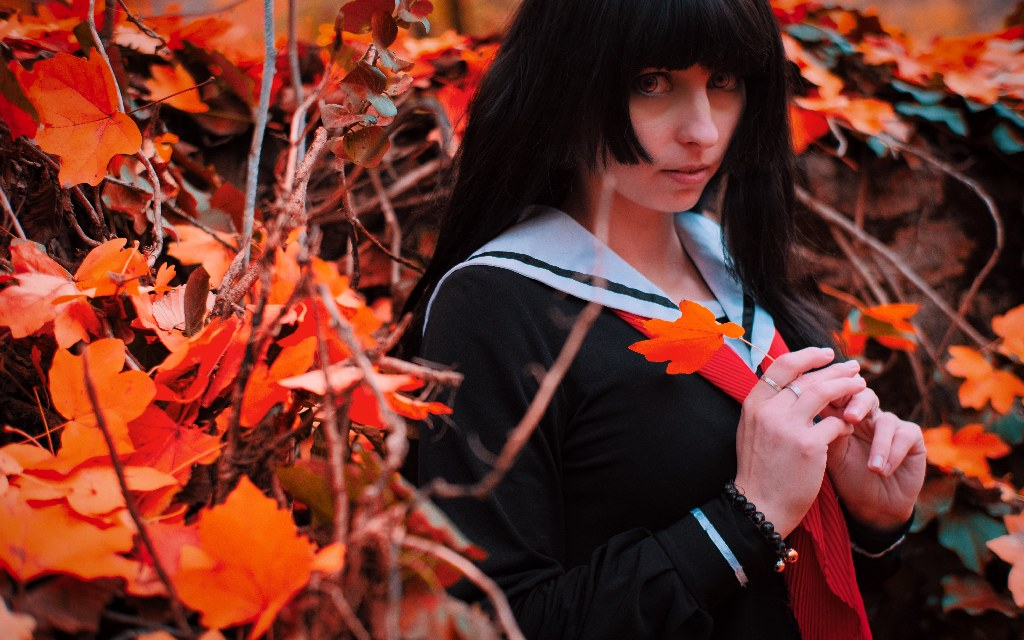 Photoshoot: Enma Ai (Jigoku Shoujo – A pokoli lány – Szmöre)