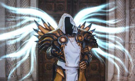Photoshoot: Tyrael (Diablo III - Telperion)