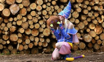 Photoshoot: Dark magician girl (Yu Gi Oh Duel Monsters - Rika-sama)