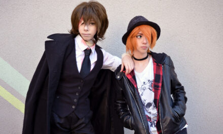 Photoshoot: Dazai & Chuuya (Bungou Stray Dogs - Nekovi & Tomura)