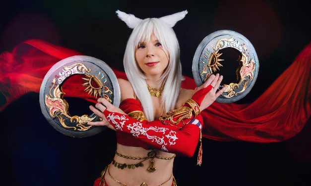 Photoshoot: Miqo'te dancer [Kisa Seira] (Final Fantasy XIV – Yuriko Seira)