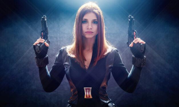 Photoshoot: Black Widow – Natasha Romanoff (Amerika Kapitány: A tél katonája – Kállai Katalin)