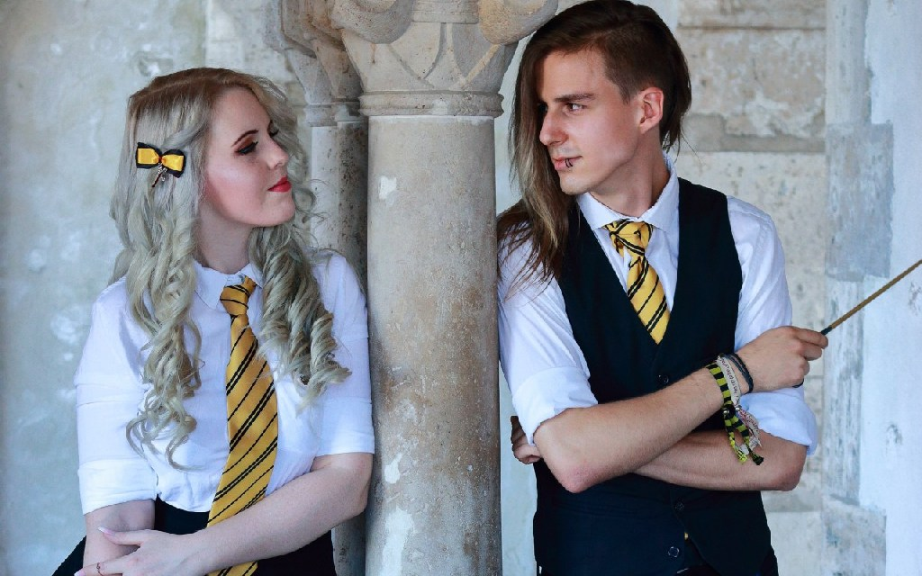 Photoshoot: Damien & Lumiére (Harry Potter Original – RagnarokComes & Nixu)