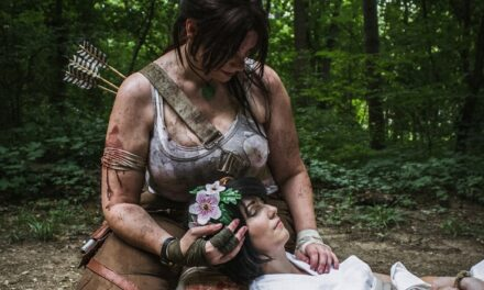 Photoshoot: Lara Croft és Sam Nishimura (Tomb Raider - Yunnie's Coven és Saku)
