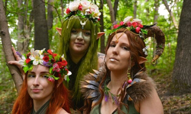Photoshoot: Tiassannan the wood elf (Original – Ljudmila)