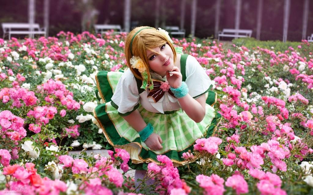 Photoshoot: Hanayo Koizumi (Love Live! School Idol Project – Aries)