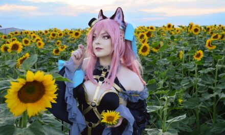 Photoshoot: Tamamo no Mae (Fate / Extra - Zoe)