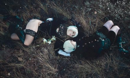 Photoshoot: 2B & 9S (NieR Automata - Ljudmila Cosplay & Meriel)
