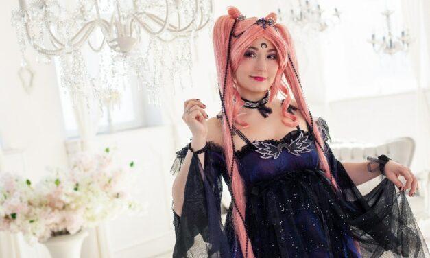 Photoshoot: Black Lady – Chibiusa (Sailor Moon – Rikku)