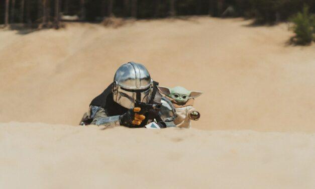 Photoshoot: Mandalorian – Din Djarin (Star Wars: Mandalorian – Swords&blueberries creatives)