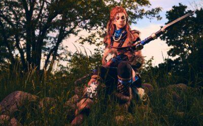Photoshoot: Aloy (Horizon: Zero Dawn – Swords&blueberries creatives)