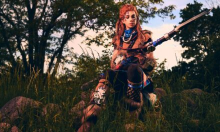 Photoshoot: Aloy (Horizon: Zero Dawn - Swords&blueberries creatives)