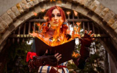 Photoshoot: Triss Merigold (The Witcher – Pocketwraith)
