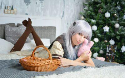 Photoshoot: Yashiro Nene és Kizuna Ai (Karácsonyi etap – Ayume Kiraima)
