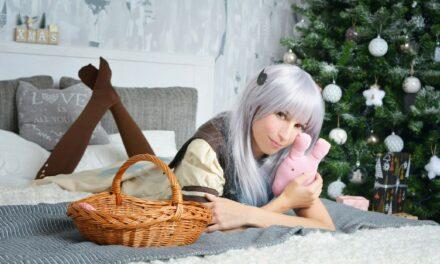Photoshoot: Yashiro Nene és Kizuna Ai (Karácsonyi etap - Ayume Kiraima)