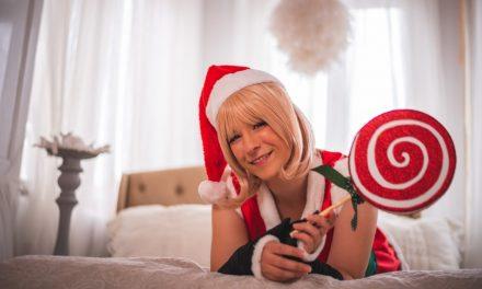 Photoshoot: Okita, christmas ver. (Fate/Grand Order - Nity)
