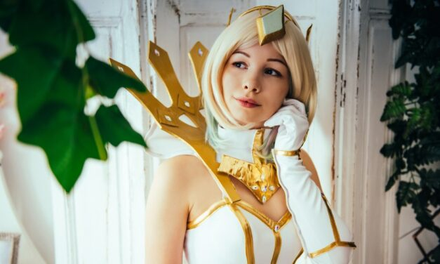 Photoshoot: Elementalist Lux (League of Legends – Kitsudere Cosplay)
