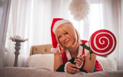 Photoshoot: Okita, christmas ver. (Fate/Grand Order – Nity)