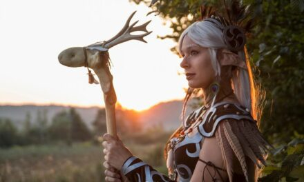 Photoshoot: Elf druid (Original, World of Warcraft – Purplepastelchalk)