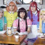 Photoshoot: Maika, Kaho, Mafuyu, Miu, Hideri (Blend S – Kitsudere Cosplay, Akuma cosplays, Moonfall cosplay, haru_the_hummingbird, Miyaou)