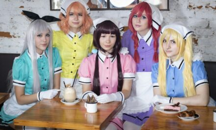 Photoshoot: Maika, Kaho, Mafuyu, Miu, Hideri (Blend S - Kitsudere Cosplay, Akuma cosplays, Moonfall cosplay, haru_the_hummingbird, Miyaou)