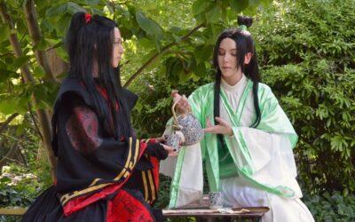 Photoshoot: Shen Qingqiu & Luo Binghe (Scumbag System – Nekovi & Tomu Cosplay)