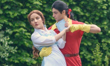 Belle és Gaston (Disney: Szépség és a Szörnyeteg - Bluebelle creatives)