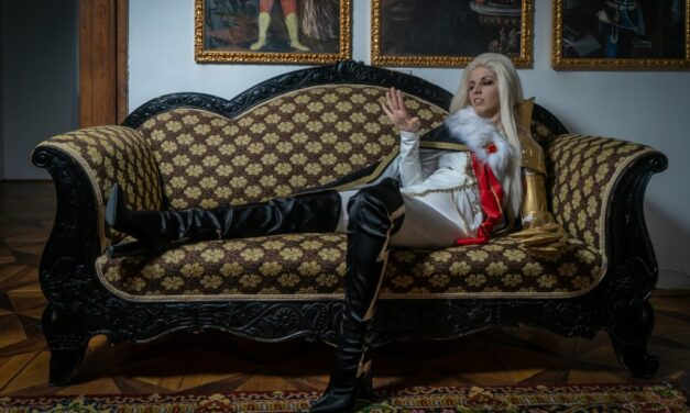 Photoshoot: Count Lucio (The Arcana – Violet Riot)