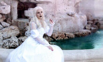 Photoshoot: Mirana, a fehér királynő (Alice Csodaországban - Ljudmila Cosplay)